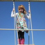 Isabella on the playground